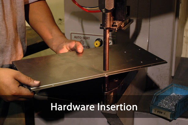 precision metal hardware insertion