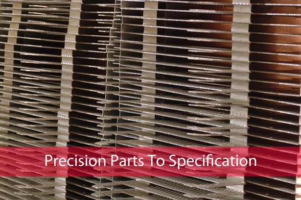 precision metal parts to specifications