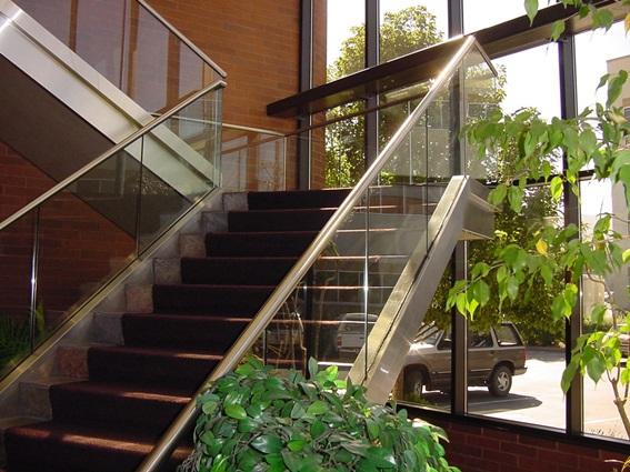 stair railing fabrication