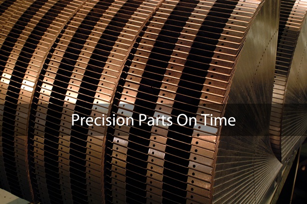 precision parts on time