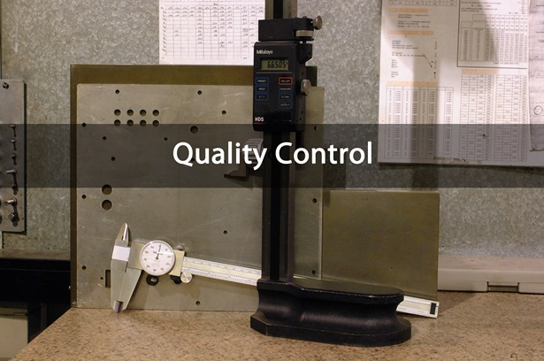 precision metal quality control